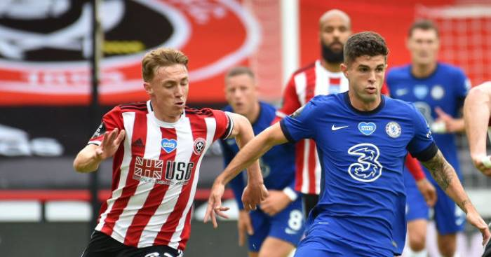 McGoldrick brace sees Sheff Utd deal blow to Chelsea top four hopes