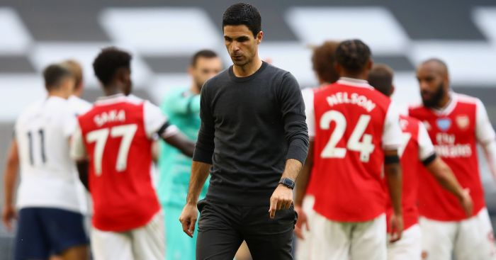 Arteta tries to put finger on why Arsenal are conceding late goals