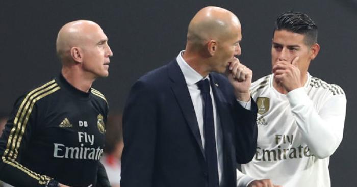 James Rodriguez Real Madrid TEAMtalk