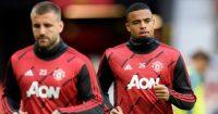 Luke Shaw, Mason Greenwood Man Utd