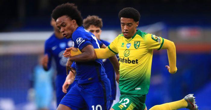 Willian Jamal Lewis Chelsea Norwich TEAMtalk