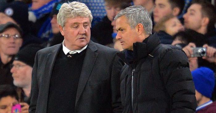 Steve Bruce, Jose Mourinho