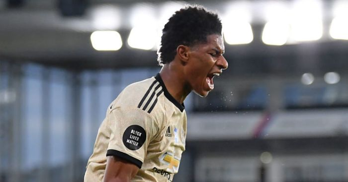 Marcus Rashford Man Utd - Marcus Rashford reacts to MBE and makes promise to vulnerable children