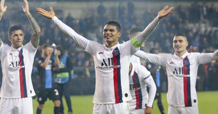 Thiago Silva PSG TEAMtalk