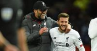 Jurgen Klopp Adam Lallana Liverpool TEAMtalk