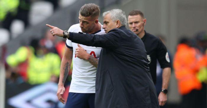 Jose Mourinho; Toby Alderweireld TEAMtalk