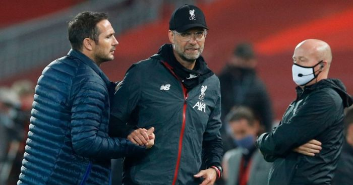 GettyImages.1227741232 - Lampard regrets Klopp spat but claims Liverpool staff 'crossed the line'