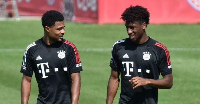 Serge Gnabry Kingsley Coman Bayern Munich TEAMtalk