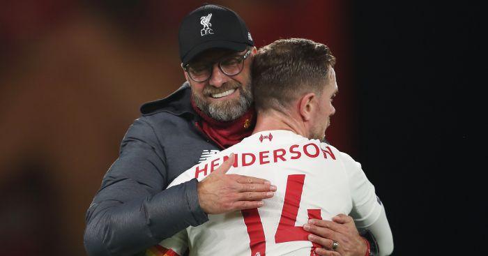 Jurgen Klopp Jordan Henderson Liverpool TEAMtalk