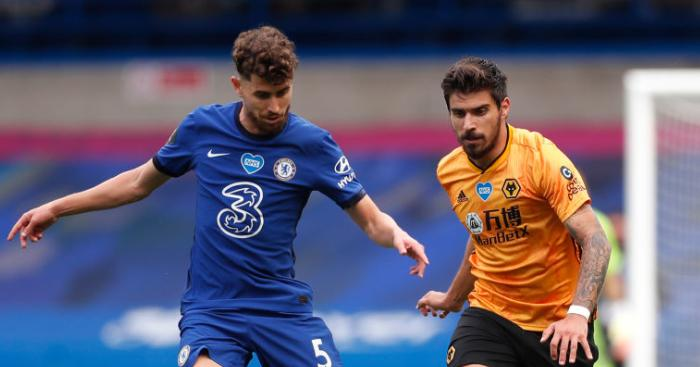 Jorginho Ruben Neves - Chelsea star's agent hints at exit after revealing Blues snubbed Barca ace