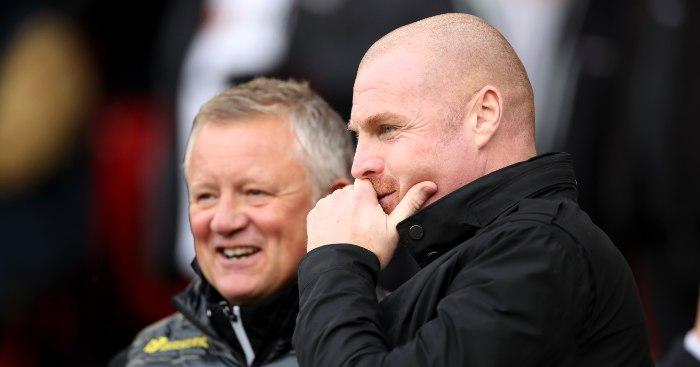 Chris Wilder Sean Dyche Sheffield United Burnley - Paper Talk: Giants enter race for Wijnaldum; Man Utd ready to pounce for Real Madrid legend