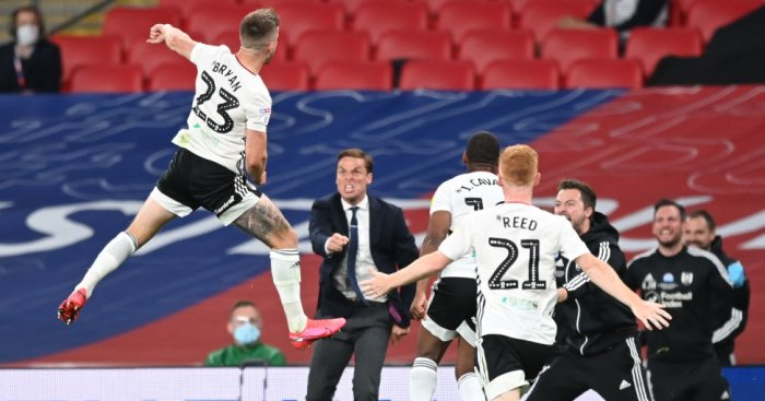 Extra-time double from Joe Bryan fires Fulham to play-off glory