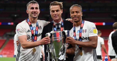 Scott Parker, Joe Bryan, Bobby Decordova-Reid Fulham