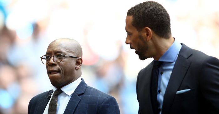 Ian Wright, Rio Ferdinand TEAMtalk