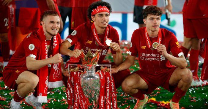 Harvey Elliott, Curtis Jones, Neco Williams Liverpool