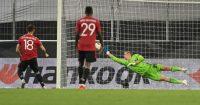 Bruno Fernandes, Aaron Wan-Bissaka Man Utd