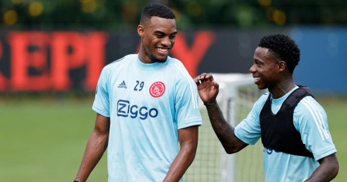 Ryan Gravenberch, Quincy Promes Ajax