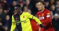 Ismaila Sarr Virgil van Dijk Watford Liverpool TEAMtalk