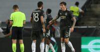Bruno Fernandes, Victor Lindelof Man Utd