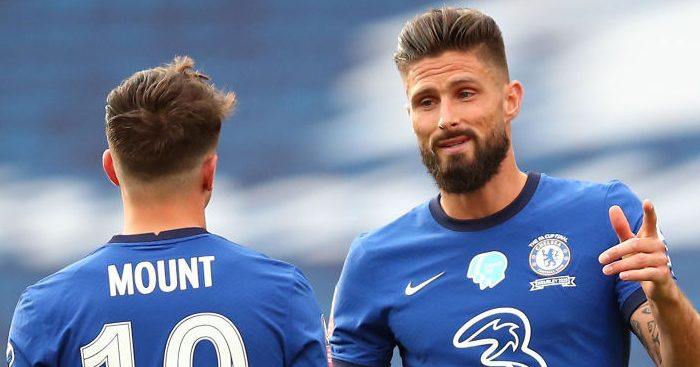 Olivier Giroud Mason Mount Chelsea TEAMtalk - Paper Talk: South American giants hoping to coax Cavani from Man Utd; Chelsea stalwart considering exit