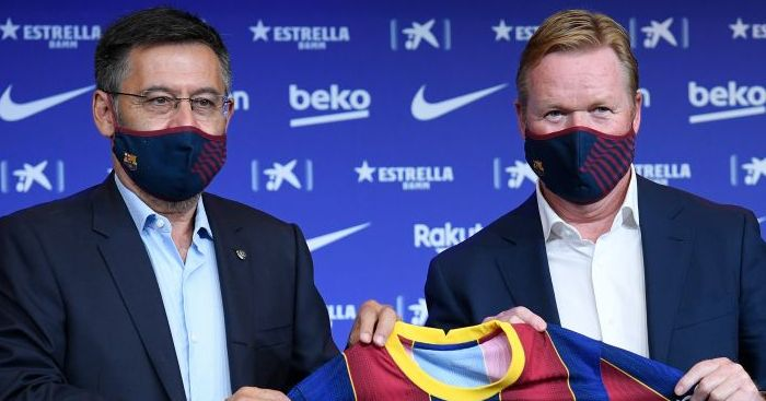 Ronald Koeman Barcelona
