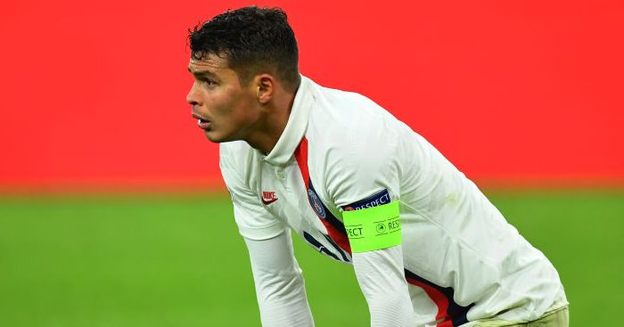 Thiago Silva Paris Saint-Germain