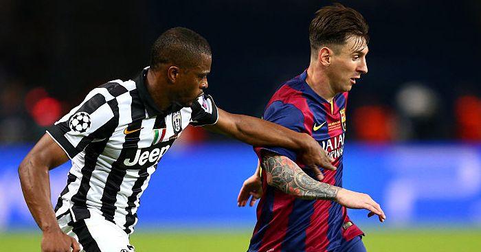 Patrice Evra, Lionel Messi