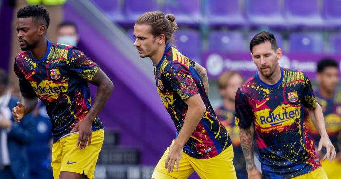 Nelson Semedo, Antoine Griezmann, Lionel Messi