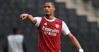 William Saliba (pic via Arsenal FC)