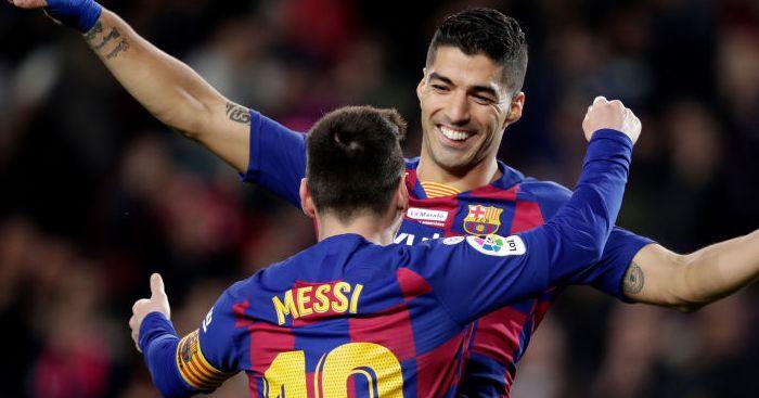 Luis Suarez, Lionel Messi Barcelona