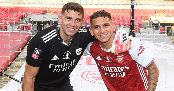 Emiliano Martinez Lucas Torreira TEAMtalk - Emiliano Martinez reveals when and why he chose to leave Arsenal