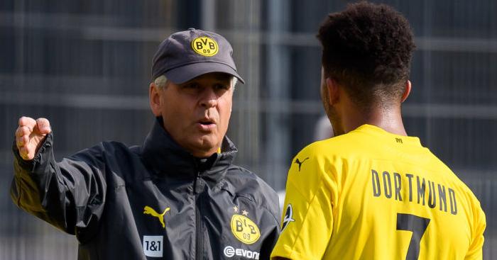 Webp.net resizeimage 2 - Jadon Sancho to Man Utd transfer verdict; winger's current mood revealed