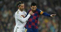 Sergio Ramos Lionel Messi Real Madrid Barcelona TEAMtalk