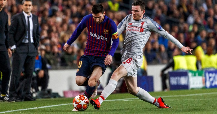 Lionel Messi Andy Robertson - Robertson clear on where he wants Messi to play next season