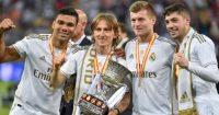 Casemiro, Luka Modric, Toni Kroos, Federico Valverde Real Madrid