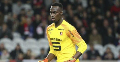 Edouard Mendy Stade Rennais TEAMtalk