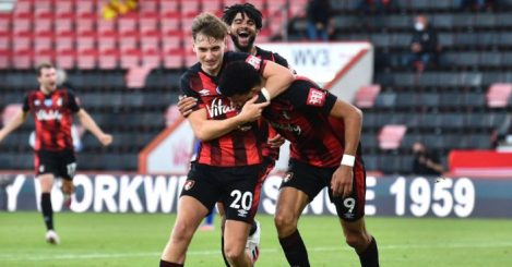 David Brooks, Dominic Solanke Bournemouth