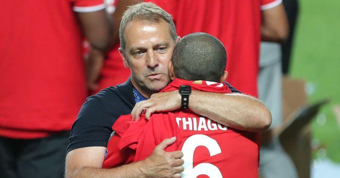 Hansi Flick, Thiago Alcantara Bayern Munich