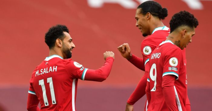 Salah Van Dijk Firmino Liverpool - Klopp explains what he 'loved' about Liverpool and Leeds performances