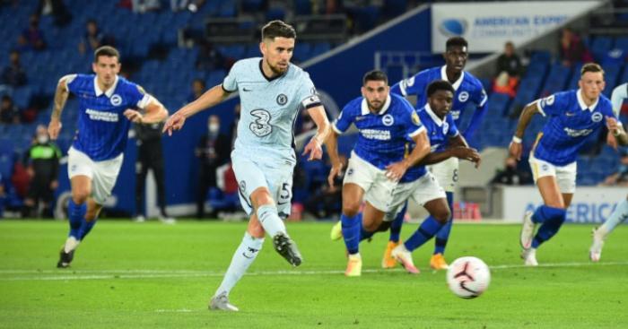 Jorginho Chelsea Getty 1 - Reece James rocket powers Chelsea past spirited Brighton