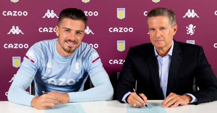 Jack Grealish contract