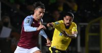 Burton v Aston Villa Jack Grealish TEAMtalk