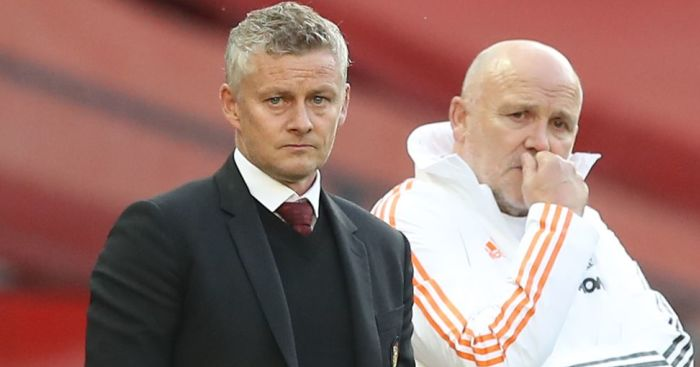 Ole Gunnar Solskjaer Mike Phelan Man Utd TEAMtalk - Solskjaer excited, as he hints Man Utd man facing axe for resurgent star