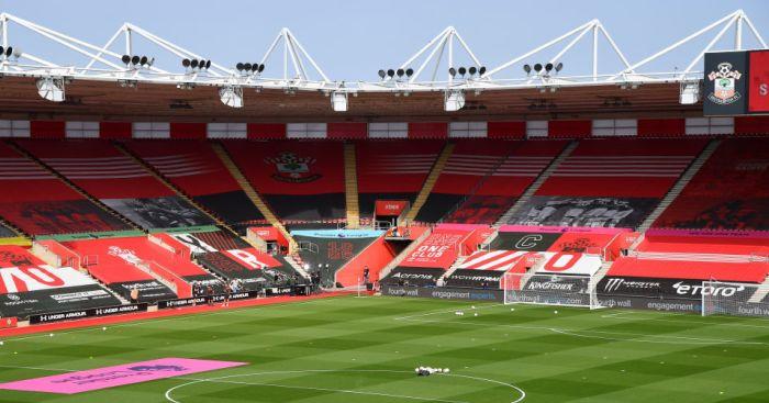 St Mary's Stadium Southampton