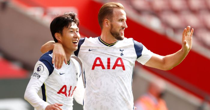 Son Heung-min, Harry Kane Tottenham