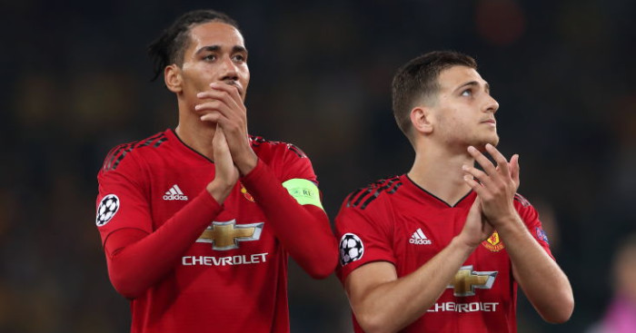 Chris Smalling, Diogo Dalot