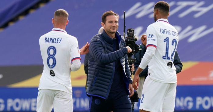 Ross Barkley, Frank Lampard, Ruben Loftus-Cheek Chelsea