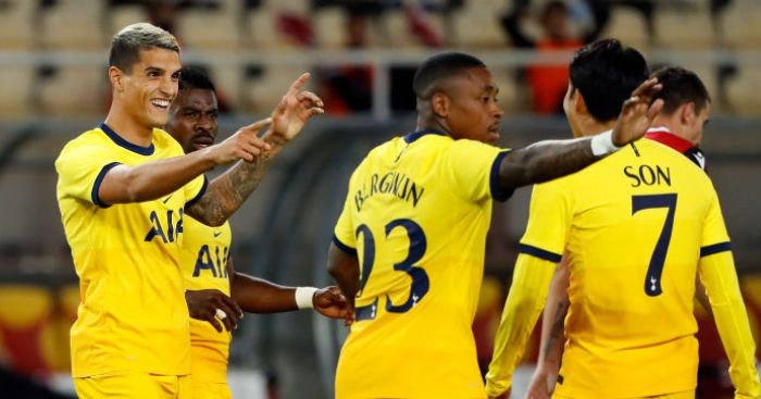 Son instrumental as Tottenham inch closer to Europa League group stage