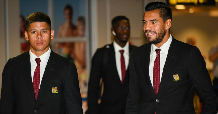 marcos.rojo .sergio.romero - Sergio Romero's wife elaborates on Manchester United exit situation