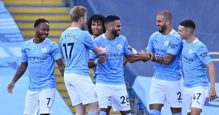 Sterling De Bruyne Ake Mahrez Walker Foden Man City TEAMtalk - Ederson fires warning to Liverpool ahead of Etihad showdown